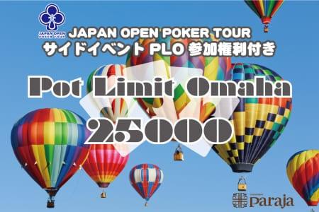 Pot Limit Omaha 25000
