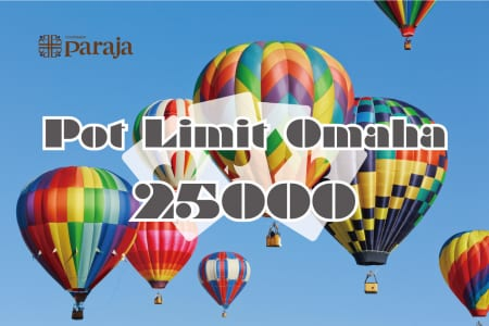 【KKPOKER PLOイベントチケット】Pot Limit Omaha 25000